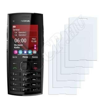 Nokia X2-02 kijelzővédő fólia