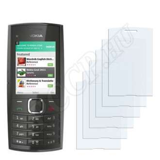 Nokia X2-05 kijelzővédő fólia
