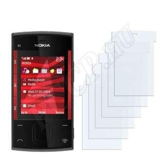 Nokia X3-00 kijelzővédő fólia
