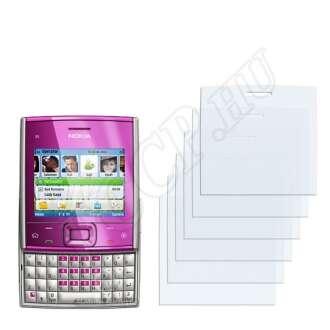 Nokia X5-00 kijelzővédő fólia