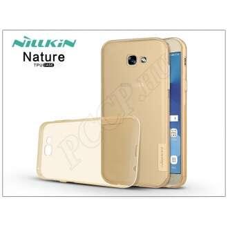 Samsung Galaxy A3 (2017) aranybarna szilikon hátlap