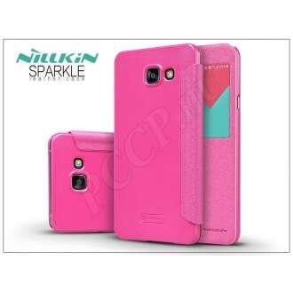 Samsung Galaxy A7 (2016) pink oldalra nyíló flip tok