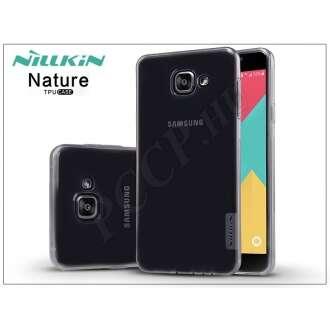 Samsung Galaxy A7 (2016) szürke szilikon hátlap