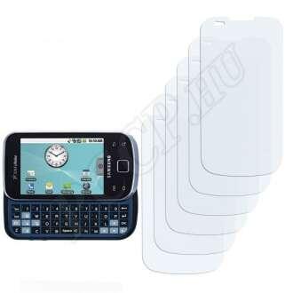 Samsung Acclaim kijelzővédő fólia