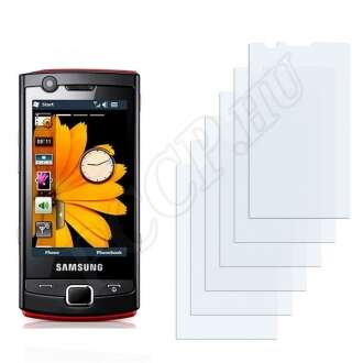Samsung B7300 Omnia Lite kijelzővédő fólia