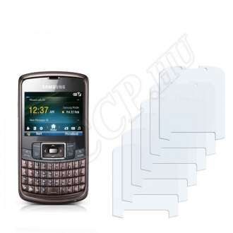 Samsung B7320 Omnia Pro kijelzővédő fólia
