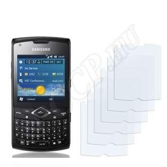 Samsung B7350 Omnia Pro 4 kijelzővédő fólia