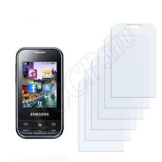 Samsung C3500 Chat350 kijelzővédő fólia