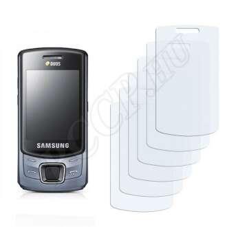 Samsung C6112 kijelzővédő fólia