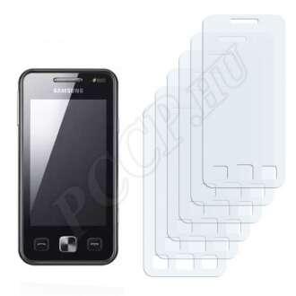 Samsung C6712 Star II DUOS kijelzővédő fólia