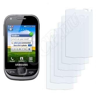 Samsung Champ 3.5G kijelzővédő fólia