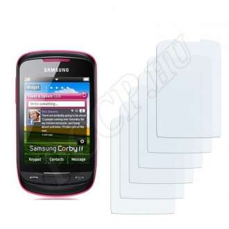 Samsung Corby 2 S3850 kijelzővédő fólia