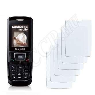 Samsung D900 kijelzővédő fólia