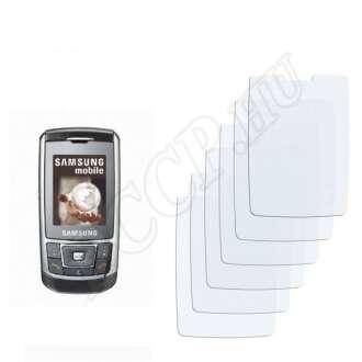 Samsung D900e kijelzővédő fólia