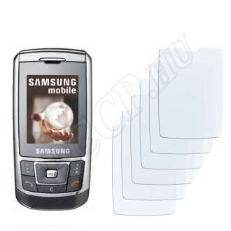 Samsung D900i kijelzővédő fólia