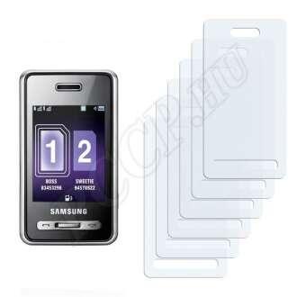 Samsung D980 DuoS kijelzővédő fólia