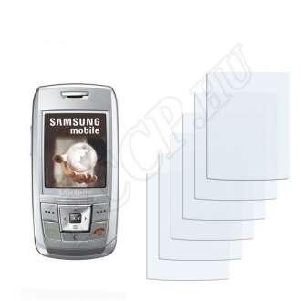 Samsung E250 kijelzővédő fólia