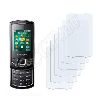 Samsung E2550 Monte Slider kijelzővédő fólia
