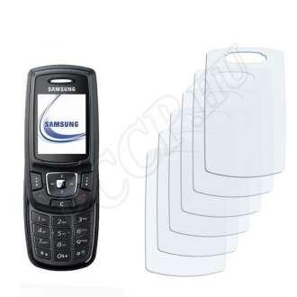 Samsung E370 kijelzővédő fólia