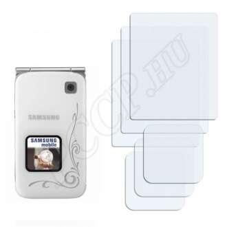 Samsung E420 kijelzővédő fólia