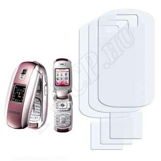 Samsung E530 kijelzővédő fólia