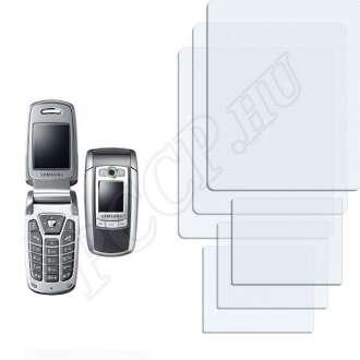 Samsung E720 kijelzővédő fólia