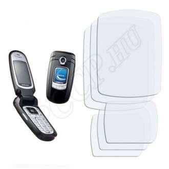 Samsung E730 kijelzővédő fólia