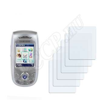 Samsung E800 kijelzővédő fólia