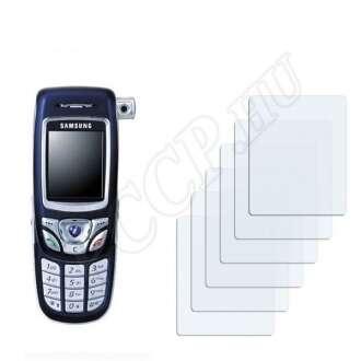 Samsung E850 kijelzővédő fólia