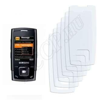 Samsung E900 kijelzővédő fólia