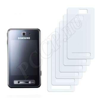 Samsung F480 Tocco kijelzővédő fólia
