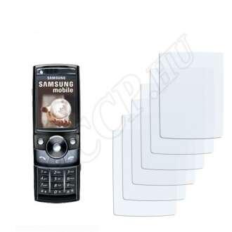Samsung G600 kijelzővédő fólia