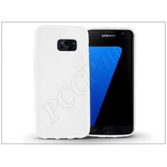 Samsung Galaxy S7 fehér szilikon hátlap