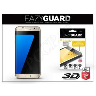 Samsung Galaxy S7 Edge gyémántüveg képernyővédő fólia arany színben