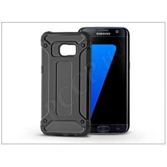Samsung Galaxy S7 Edge fekete ütésálló hátlap
