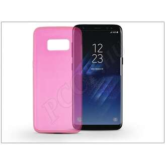 Samsung Galaxy S8 pink szilikon hátlap