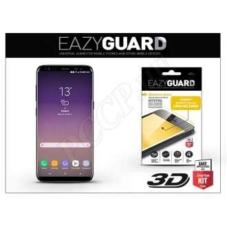 Samsung Galaxy S8 Plus gyémántüveg kijelzővédő fólia fekete színben