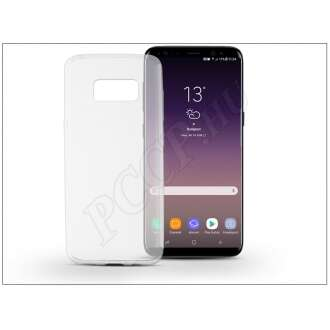 Samsung Galaxy S8 Plus átlátszó szilikon hátlap