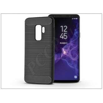 Samsung Galaxy S9 Plus fekete szilikon hátlap