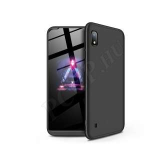 Samsung Galaxy A10 fekete három részből álló védőtok