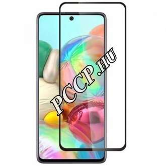 Samsung Galaxy A12 üveg kijelzővédő fólia