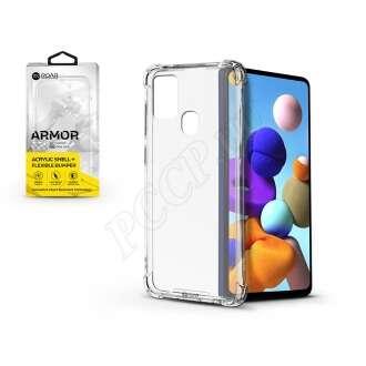 Samsung Galaxy A21S átlátszó szilikon hátlap