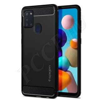 Samsung Galaxy A21s fekete hátlap