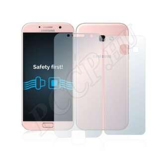 Samsung Galaxy A3 (2017) elő- és hátlap kijelzővédő fólia
