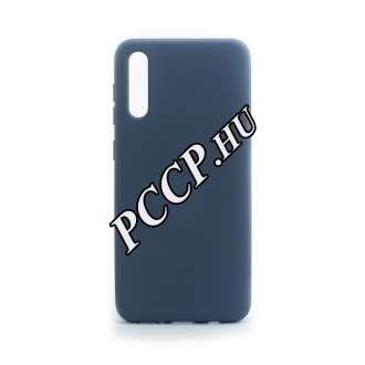 Samsung Galaxy A30S kék prémium szilikon hátlap