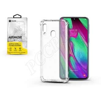 Samsung Galaxy A40 átlátszó szilikon hátlap