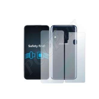Samsung Galaxy A40 (elő- és hátlap) kijelzővédő fólia