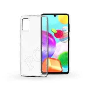 Samsung Galaxy A41 átlátszó szilikon hátlap