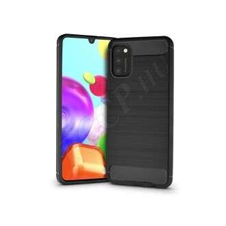 Samsung Galaxy A41 fekete szilikon hátlap