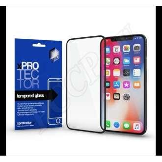 Samsung Galaxy A41 fekete üveg kijelzővédő fólia - Xprotector